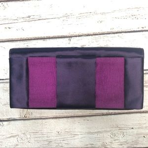 Cole Haan Purple Clutch NWT